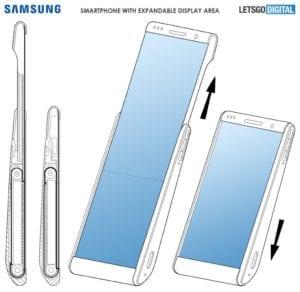 Samsung écran étirable