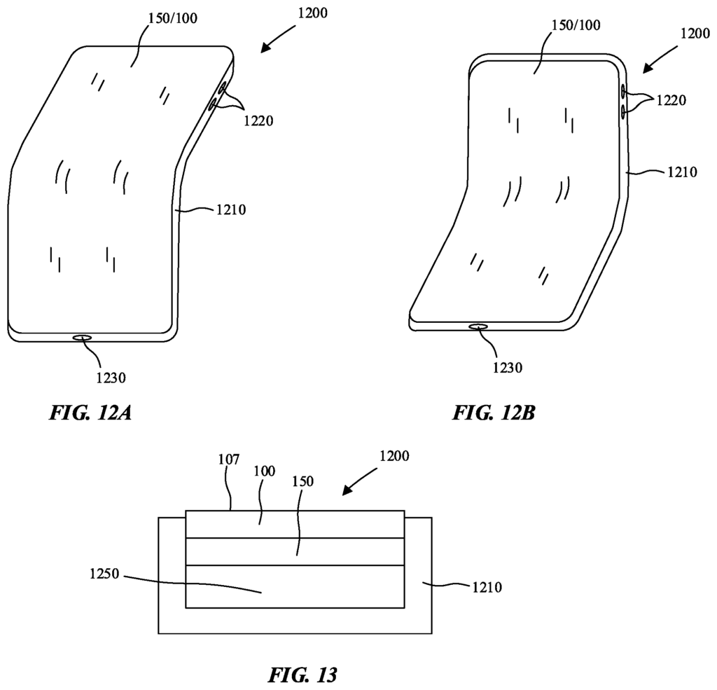 Brevet Apple film protecteur écran pliable